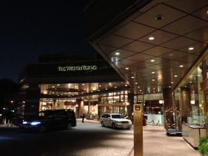 ウェスティンホテル東京エントランス